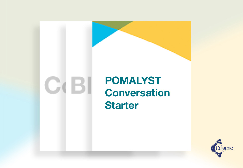 POMALYST® (pomalidomide) Conversation Starter - Download